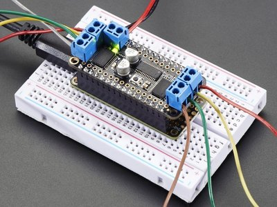 【Raspberry pi樹莓派專業店】DC Motor + Stepper FeatherWing Add-on
