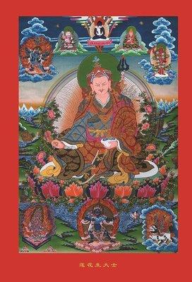 佛像唐卡-結緣佛像佛教學院版標準觀修蓮...