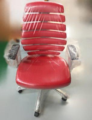台中二手家具 大里宏品二手家具館 EA-1225*全新紅色電腦椅*各式桌椅 中古辦公家具買賣 會議桌椅 辦公桌椅