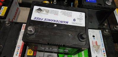 (二手中古電池) YUASA 55D23L-SMF 免保養汽車電池 數值漂亮,品項優 桃園市