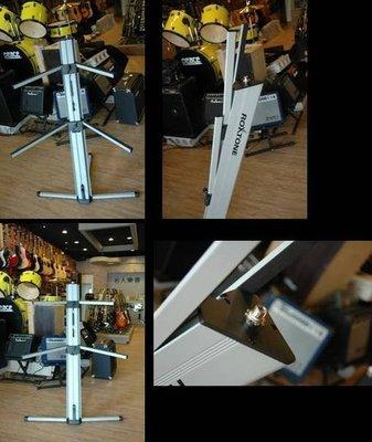 【比美ULTIMATE】 高品質 ROXTONE 頂級雙層電子琴架 銀黑可選樂師必備