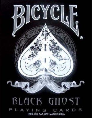 [MAGIC 999] BICYCLE 黑鬼 黑幽靈 BLACK GHOST 撲克牌
