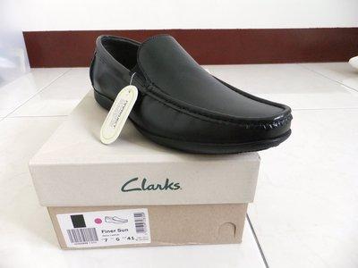 Clarks Finer Sun皮鞋  紳士 休閒  全新未落地 us8.5