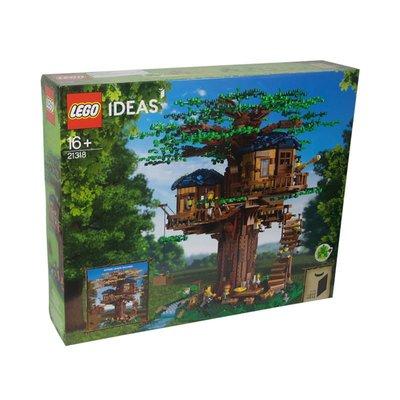 樂高精品 LEGO 樂高IDEA系列 21318樹屋 叢林木屋模型拼裝積木益智玩具禮物