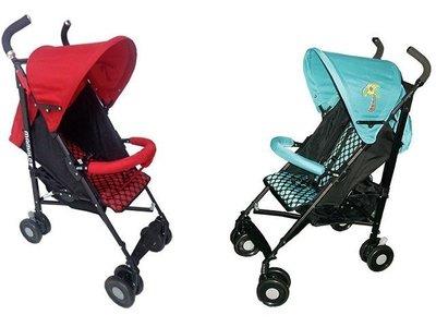 唯可媽媽╭☆超低價mamalove媽媽愛可躺型傘車/輕便手推車(紅綠可選)