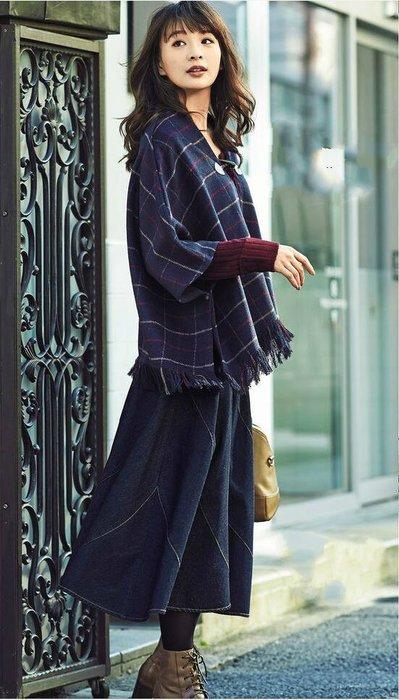 ☆UeF☆日本正品專櫃高品質絲棉牛仔裙(新品現貨)