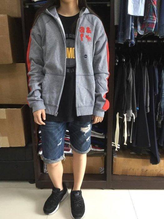 【現貨出清不退換】 男童 a&f 經典刺繡貼布外套 保證正品 歡迎來店參觀選購