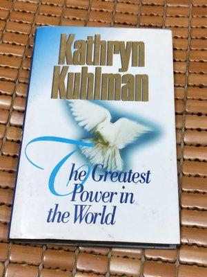 不二書店  the greatest power in the world kathryn kuhlman 英文原文書