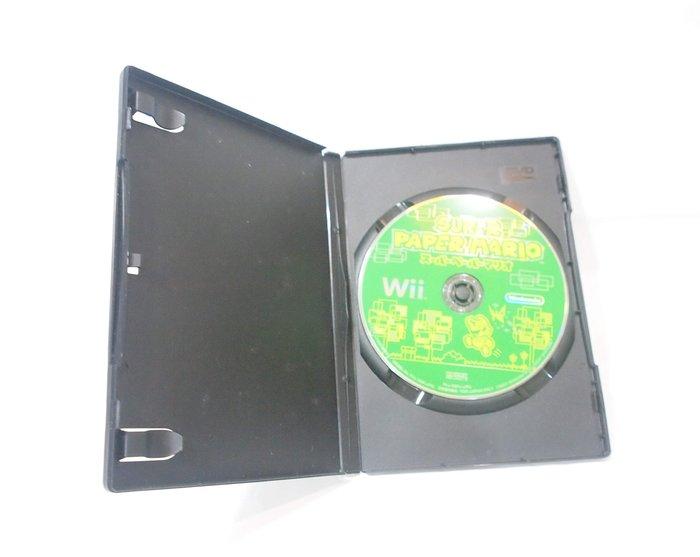 Wii原版遊戲片 -- 超級紙片瑪利歐 Super Paper Mario / 日文版