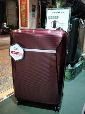 正貨附保卡Samsonite新秀麗 28吋行李箱 ENWRAP 防盜拉鍊 PC箱 可擴充 飛機輪 全新福利品