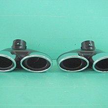 ☆小傑車燈家族☆全新 W203 W208 W210 W211 W220 W163 不鏽鋼四出尾飾管 排氣管