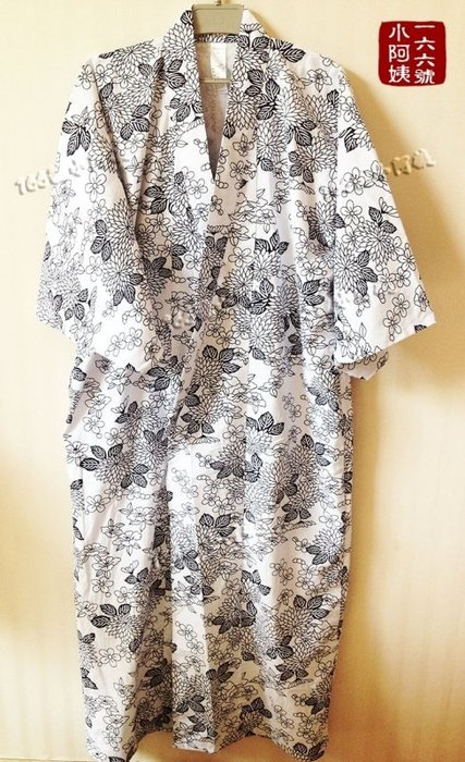 【166號小阿姨】團購525元!印花純棉雙層 男女春秋日式和服 泡湯泡溫泉spa浴衣 睡衣睡袍 日本浴袍。現貨+預購