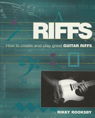 Riffs - How to Create and Play Great Guitar Riffs Book 內附CD