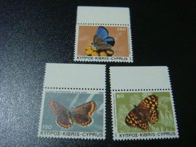 【大三元】F4各國蝴蝶專題系列--新票三全1套