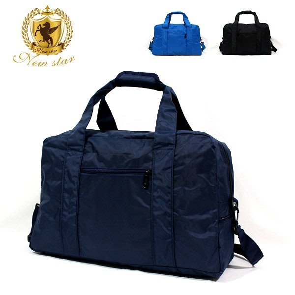 肩背包包 日系極簡超大容量口袋旅行袋購物袋 NEW STAR BB35