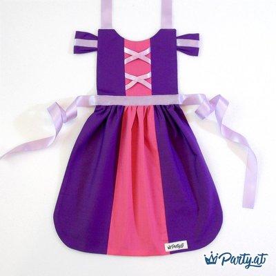 **party.at**魔法奇緣 長髮公主 (紫色) 兒童圍裙 2-8Y 聖誕節服裝 萬聖節 迪士尼 白雪公主 冰雪奇緣