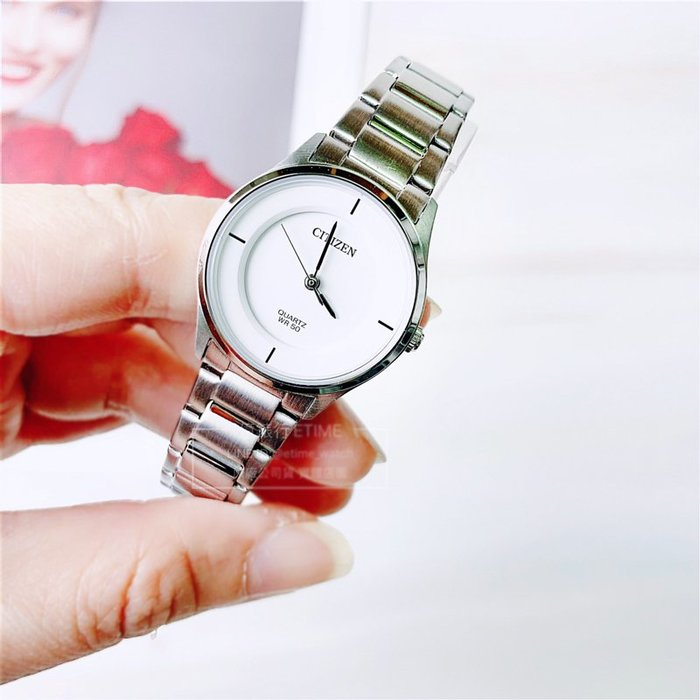 CITIZEN ER0201-81B 星辰 簡約 石英錶 女錶 原廠公司貨 母親節禮物