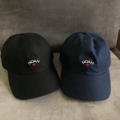 xsPC Noah Water Repellent Core Logo Hat 十字老帽 尼龍材質 刺繡 防水 耐髒汙 美國製 黑色 深藍色