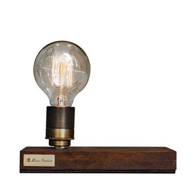【曙muse】金屬燈頭觸控木底燈 佈置 夜燈 原木 調光  Loft 工業風 咖啡廳 民宿 交換禮物