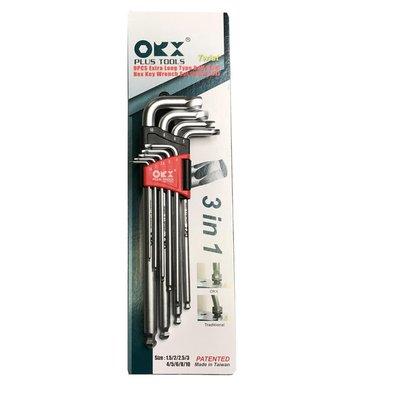 台灣製 orx 螺旋六角扳手 HK1510 加長 球型ORIX 內六角螺絲板手 專用 滑牙 崩牙 退牙 滑牙螺絲取出器