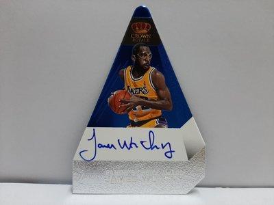 2011 crown James Worthy 限量15張簽名卡