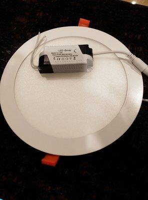 明冠燈光-開孔20公分LED崁燈/18...