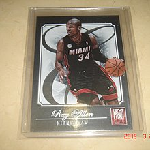 美國職籃 NBA Heat Ray Allen 2013 Panini Elite #37 球員卡