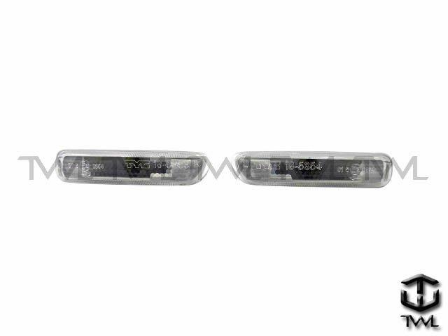 《※台灣之光※》全新BMW E46 98 99 00 01 02年全白側燈 台灣製造  出清中