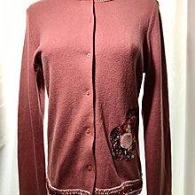 New OL long sleeve cardigan 70% wool 羊毛長袖毛衣