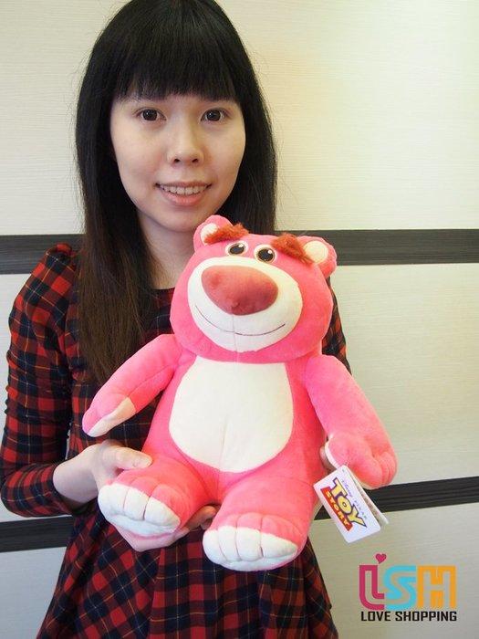 【愛購樂】 迪士尼 玩具總動員 熊抱哥 25CM 正版授權 玩偶 娃娃 抱枕