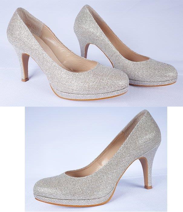 魔幻甜心購物網 – 全新ORIN亮銀色公主款高跟鞋