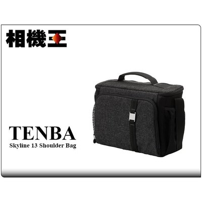 ☆相機王☆Tenba Skyline 13 Shoulder Bag 側背包 相機包 黑色 (2)