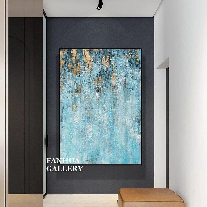C - R - A - Z - Y - T - O - W - N 純手繪立體筆觸油畫青出於藍抽象藝術油畫設計師款裝飾畫商空美學空間原創時尚高檔手繪油畫收藏掛畫
