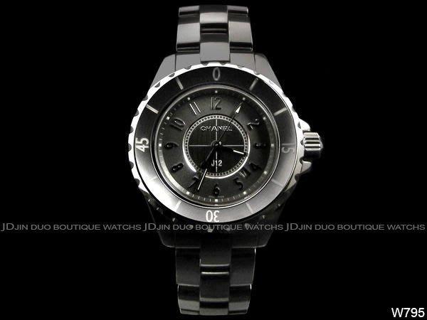 金鐸精品~W795 CHANEL 香奈兒 J12 H2978 CHROMATIC 鈦陶瓷 33mm 石英女用腕錶