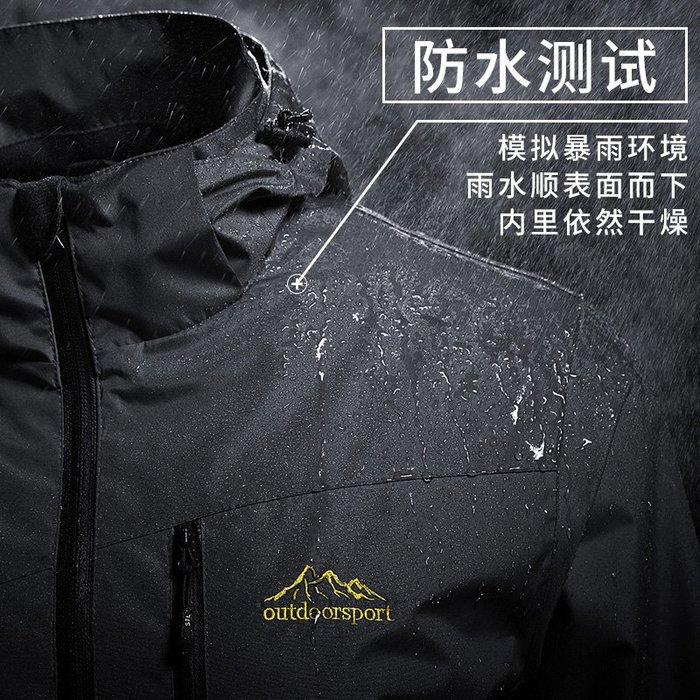 保暖風衣 衝鋒衣 男女潮牌冬加絨加厚保暖棉衣戶外春秋  防風 透氣薄款單層外套
