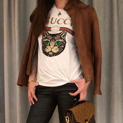 Gucci貓咪頭T-shit(現貨出清)