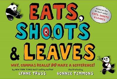 *小貝比的家*EATS SHOOTS & LEAVES/精裝書/7-12歲/友誼/李貞慧-PART3