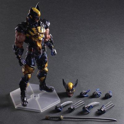 ~小娟家居~ 歐美系列 PA改 公仔 1902 X戰警 Wolverine 金剛狼 可動式