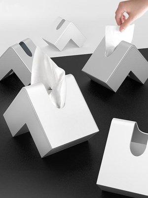 創意北歐式紙巾盒家用辦公客廳茶幾臥室書房日式簡約 【新品優惠】 免運