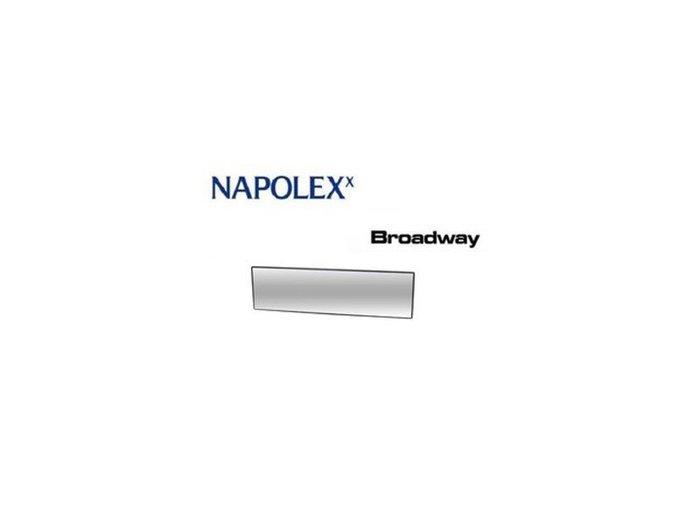 《達克冷光》NAPOLEX 大視界平面室內鏡290mm BW834