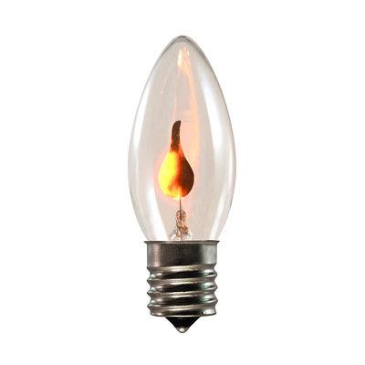 Flickr Flame 火焰型燈泡 E17接頭