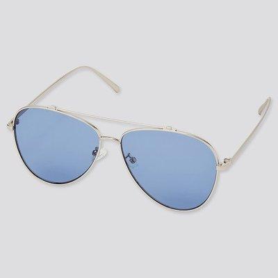 Uniqlo  限量飛行太陽眼鏡 BLUE 或  YELLOW 兩款顏色可任選  特價:500元