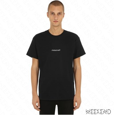 【WEEKEND】 FUCK ART MAKE TEES FAMT Narcissism 短袖 上衣 T恤 黑色