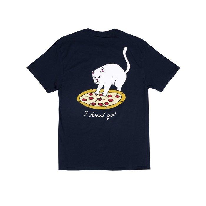 { POISON } RIPNDIP P.R.E.A.M. TEE 揉揉披薩中指貓