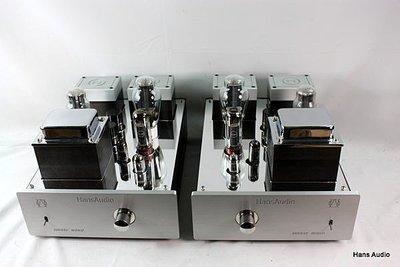 【買68000 送6800(同值商品)】瀚斯音響 Super 300B SE mono+mono 直熱式後級擴大機