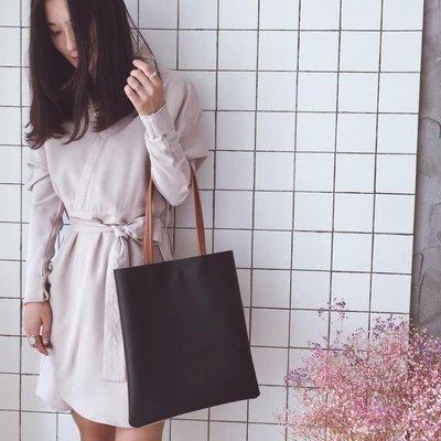 ZIHOPE 斜背包 包包春新款韓版時尚潮簡約撞色女包百搭托特包手提包單肩大包ZI812