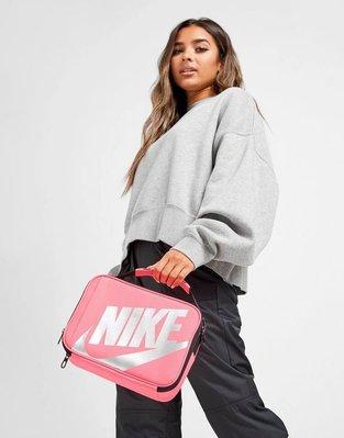 南◇2020 7月 Nike Futura Fuel Lunch 黑色 粉紅色 收納包 手提包 大勾勾 野餐袋 盥洗袋