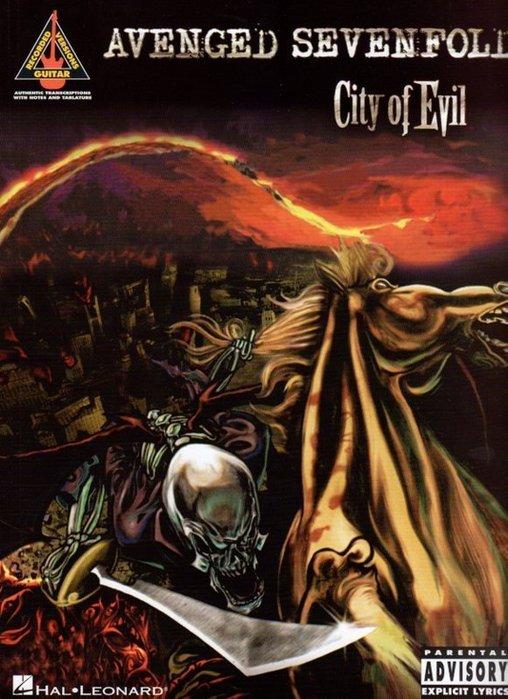 反拍樂器   七級煉獄Avenged sevenfold City of Evil專輯