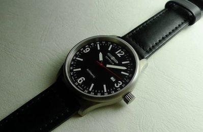 (( 國民腕錶 )) 德國 ZEPPELIN 齊柏林 鈦金屬 自動上鍊 (SW200-1) 機械錶 ( 3670-2 )