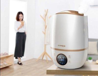 ZIHOPE 220V加濕器家用靜音臥室孕婦嬰兒迷你小型空氣辦公室大容量凈化 STZI812